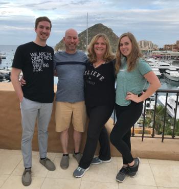 Rhonda Martin and family