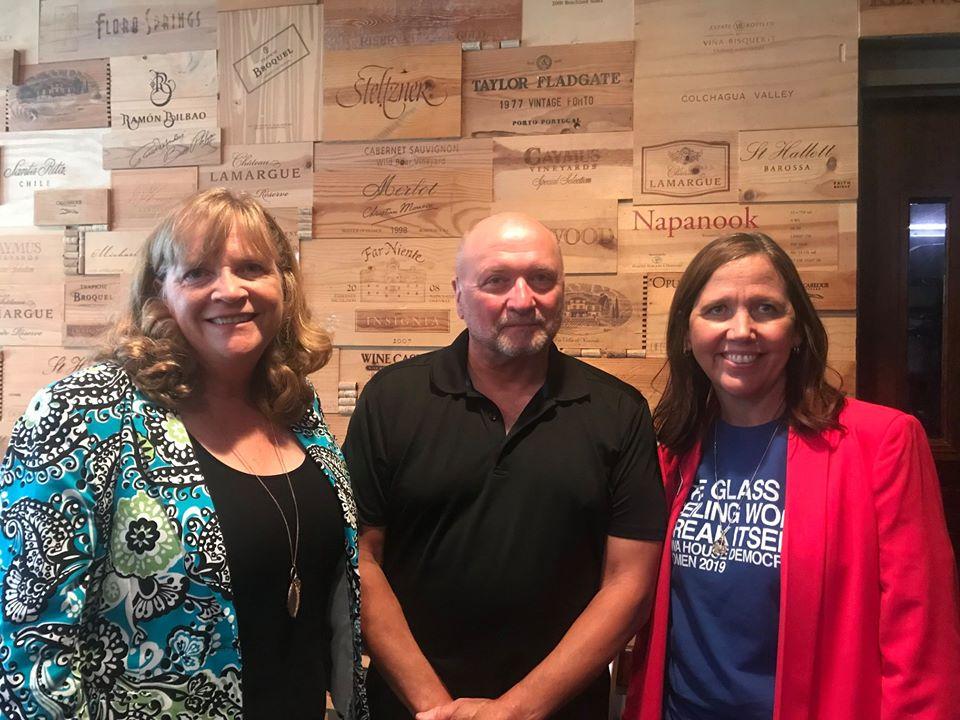 Rhonda, Randy Richardson, Karin Derry