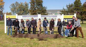 Groundbreaking for Johnston Town Center