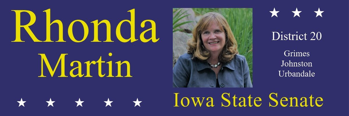Rhonda Martin for Iowa Senate